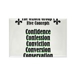5-concepts Rectangle Magnet (100 pack)