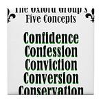 5-concepts Tile Coaster