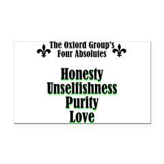 4-absolutes Rectangle Car Magnet