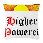 HIgher Powered (Sunrise) Woven Throw Pillow