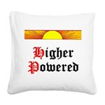 HIgher Powered (Sunrise) Square Canvas Pillow