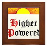HIgher Powered (Sunrise) Framed Tile