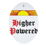 HIgher Powered (Sunrise) Oval Ornament