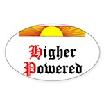 HIgher Powered (Sunrise) Sticker (Oval)