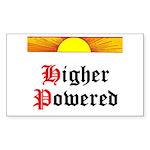 HIgher Powered (Sunrise) Sticker (Rectangle)