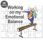 Working on My Emotional Balance Puzzle