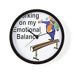 Working on My Emotional Balance Wall Clock