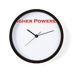 Higher Powered Wall Clock