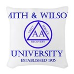 Smith Wilson University Woven Throw Pillow