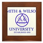 Smith Wilson University Framed Tile
