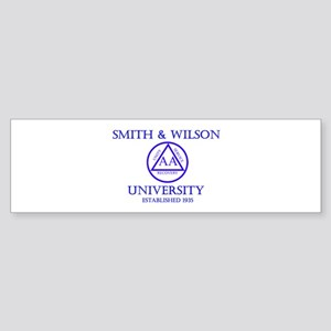 Smith Wilson University Sticker (Bumper)