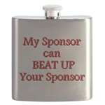 My Sponsor Can Beat Up Your Sponsor Flask