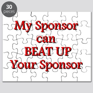 My Sponsor Can Beat Up Your Sponsor Puzzle