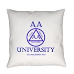 AA University Everyday Pillow