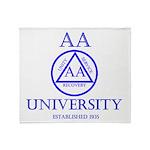 AA University Throw Blanket