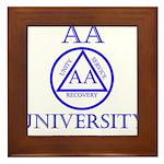 AA University Framed Tile