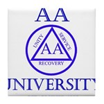 AA University Tile Coaster