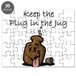 Keep the Plug in the Jug Puzzle