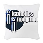 Alcoholics Anonymous Woven Throw Pillow