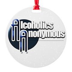 Alcoholics Anonymous Ornament