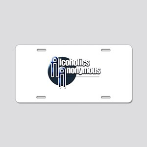 Alcoholics Anonymous Aluminum License Plate