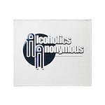 Alcoholics Anonymous Throw Blanket