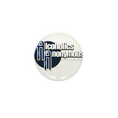 Alcoholics Anonymous Mini Button (10 pack)