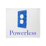 Powerless Throw Blanket