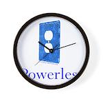 Powerless Wall Clock