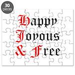 Happy Joyous Free Puzzle