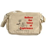 Voice of Experience Messenger Bag