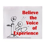 Voice of Experience Throw Blanket