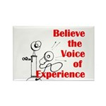 Voice of Experience Rectangle Magnet (100 pack)
