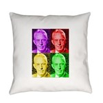 Colorful Bill W Everyday Pillow