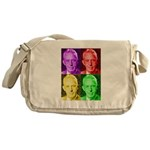 Colorful Bill W Messenger Bag