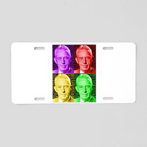 Colorful Bill W Aluminum License Plate