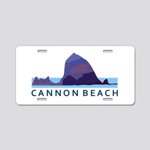 Cannon Beach. Aluminum License Plate