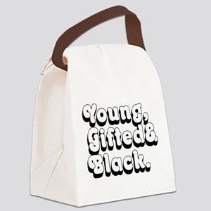 Young, Gifted & Black. Canvas Lunch Bag