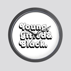 Young, Gifted & Black. Wall Clock