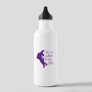Boring Hair Stainless Water Bottle 1.0L