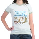 Play and Stay Jr. Ringer T-Shirt
