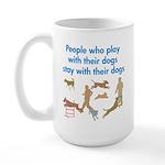 Play and Stay Large Mug