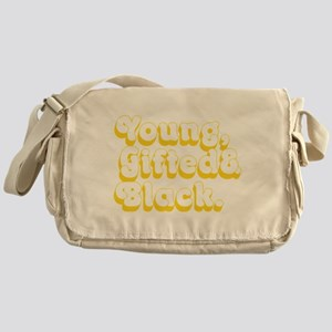 Young, Gifted & Black. Messenger Bag