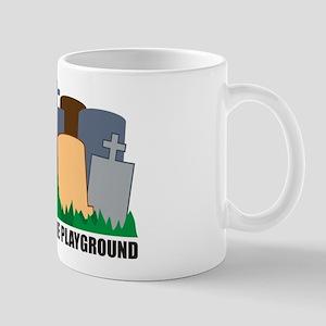 Welcome To Playground Mug