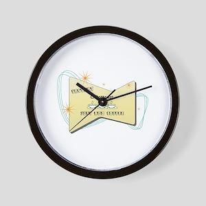 Instant Chiropractor Wall Clock