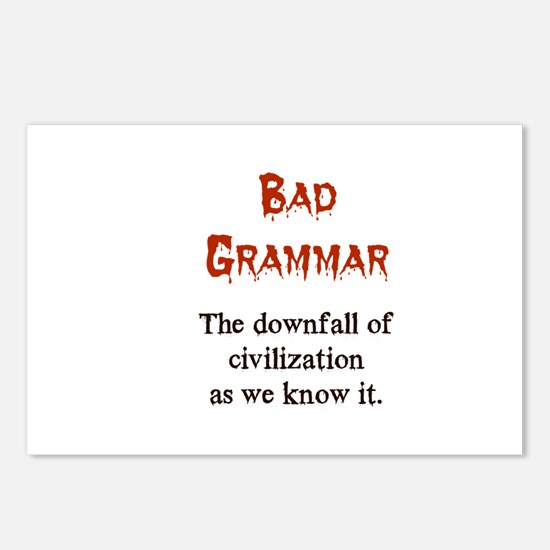 Bad Grammar Postcards (Package of 8)