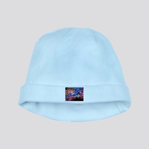 Colorful Live Love Laugh baby hat