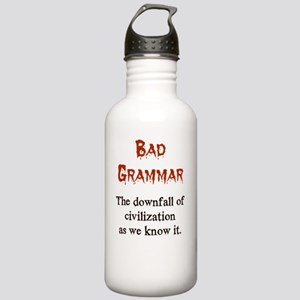 Bad Grammar Stainless Water Bottle 1.0L