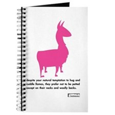 'cuddle llamas' journal