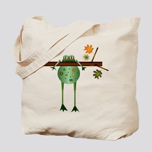 Of Trees and Frogs Tote Bag